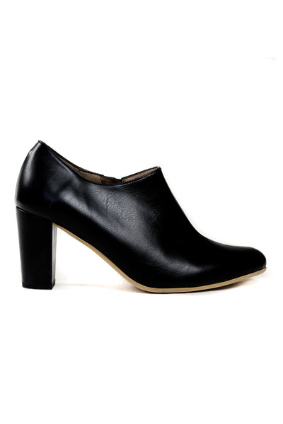 London Block Heel Bootie