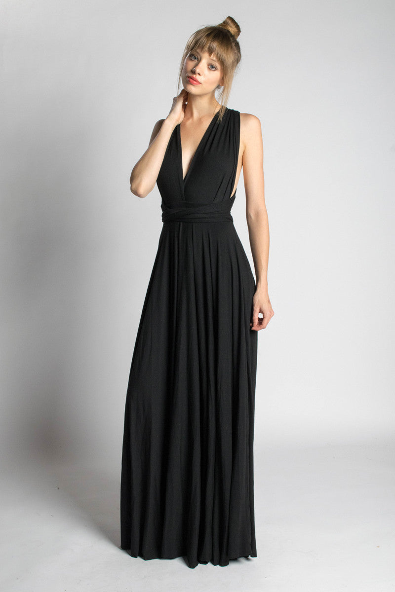 5-in-1 Long Infinity Dress - Orgotton