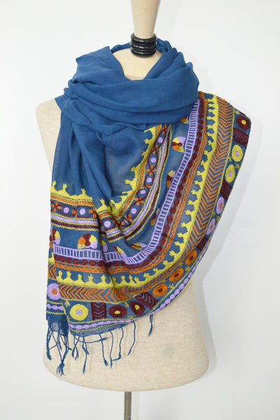 Regal Blue Scarf
