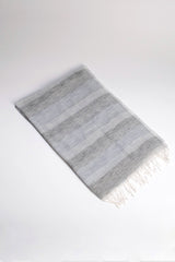 Black and Silver Fair Trade Sabeena Scarf - Sevya