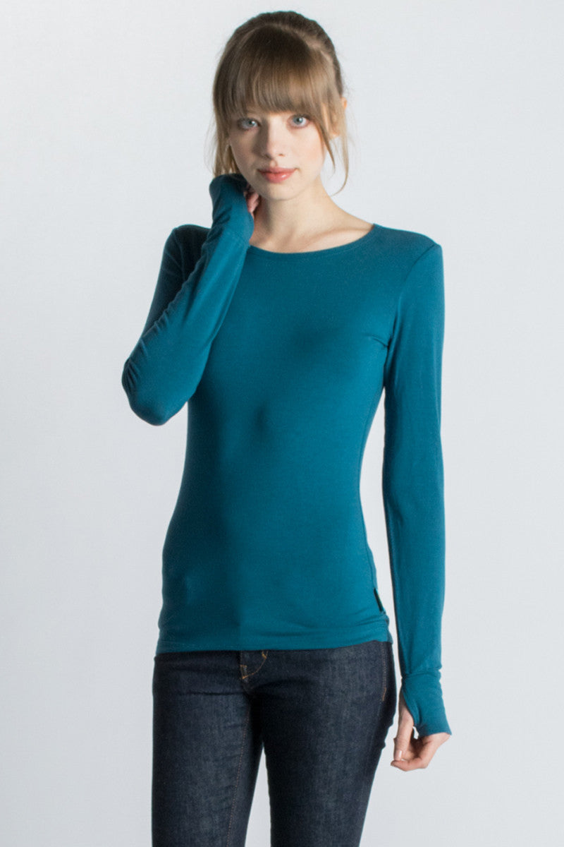 Strength Long Sleeve Bamboo T-Shirt - Beckons