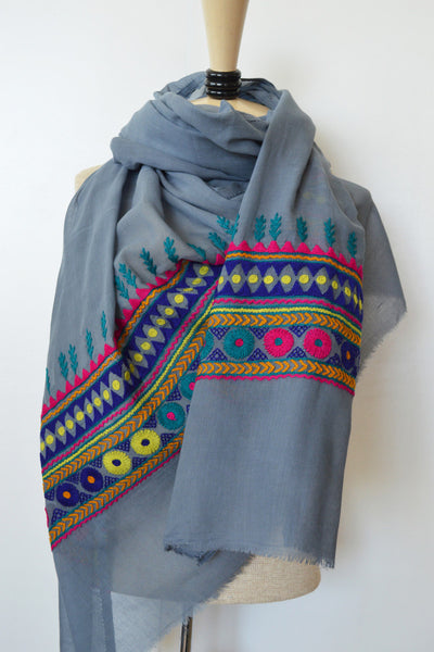 Light Tribal Love Scarf