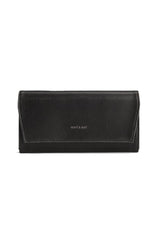 Vegan Vintage Vera Wallet - Matt & Nat in Black