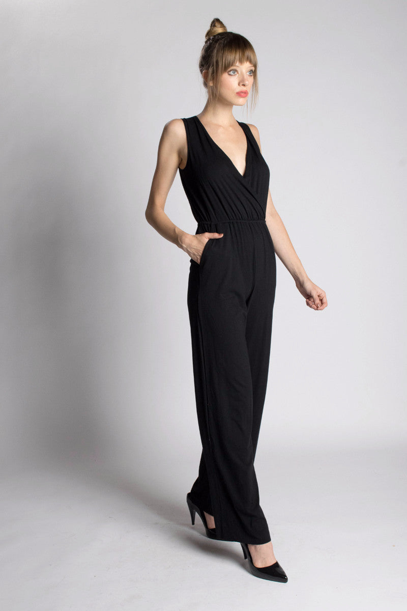 Wide-Leg Jumpsuit - Orgotton
