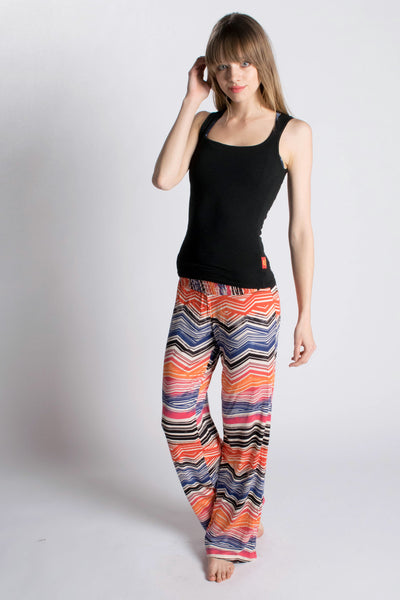 Sunset Windward Print Pants