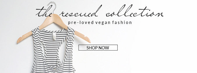 Bead & Reel Rescued Collection: Pre-Loved Vegan Fashion