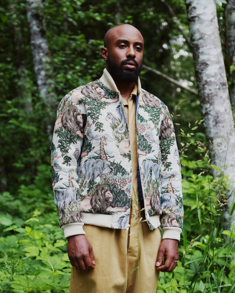 Bomber jacket- safari