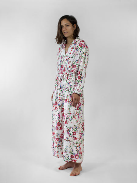 Robe dress, French Floral