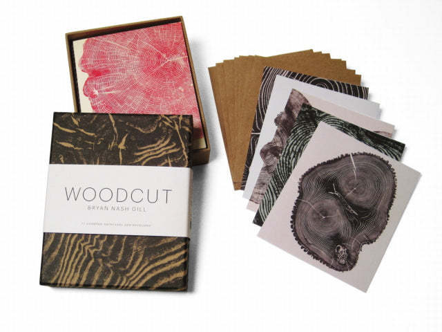 Bryan Nash Gill Woodcut Notecard Set