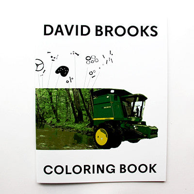 David Brooks Coloring Book