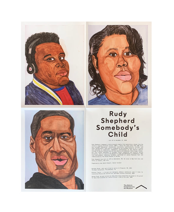 Rudy Shepherd: Somebody's Child Poster