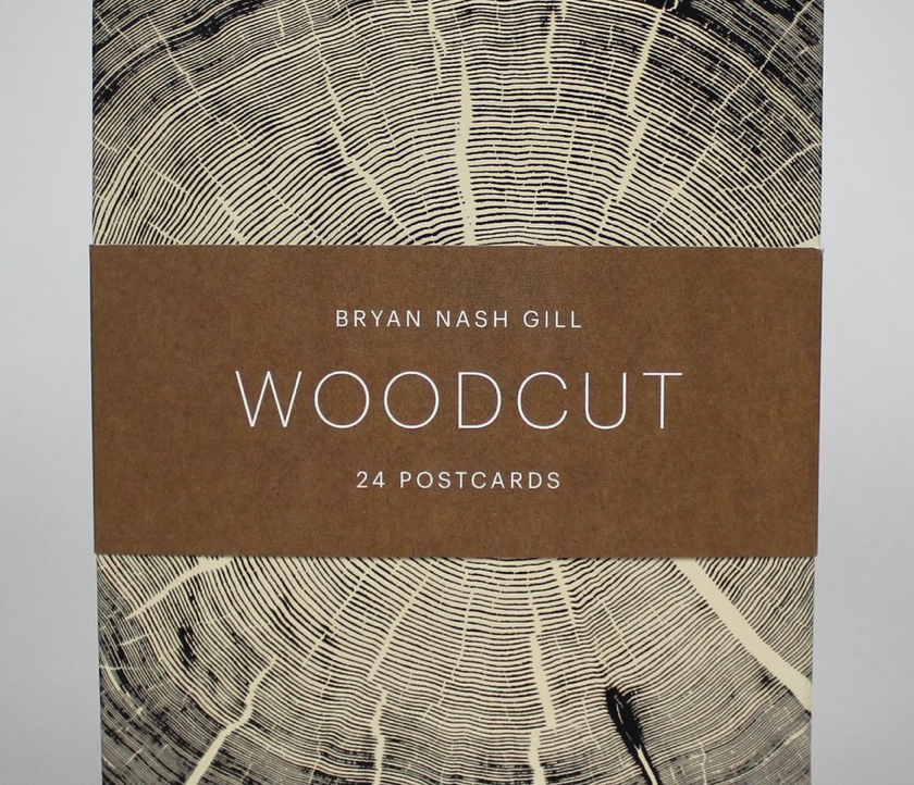 Bryan Nash Gill Woodcut Postcards