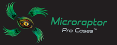 Microraptor Pro Cases, A Fuerte Cases Brand. Division of The Waterproof Case Company LLC