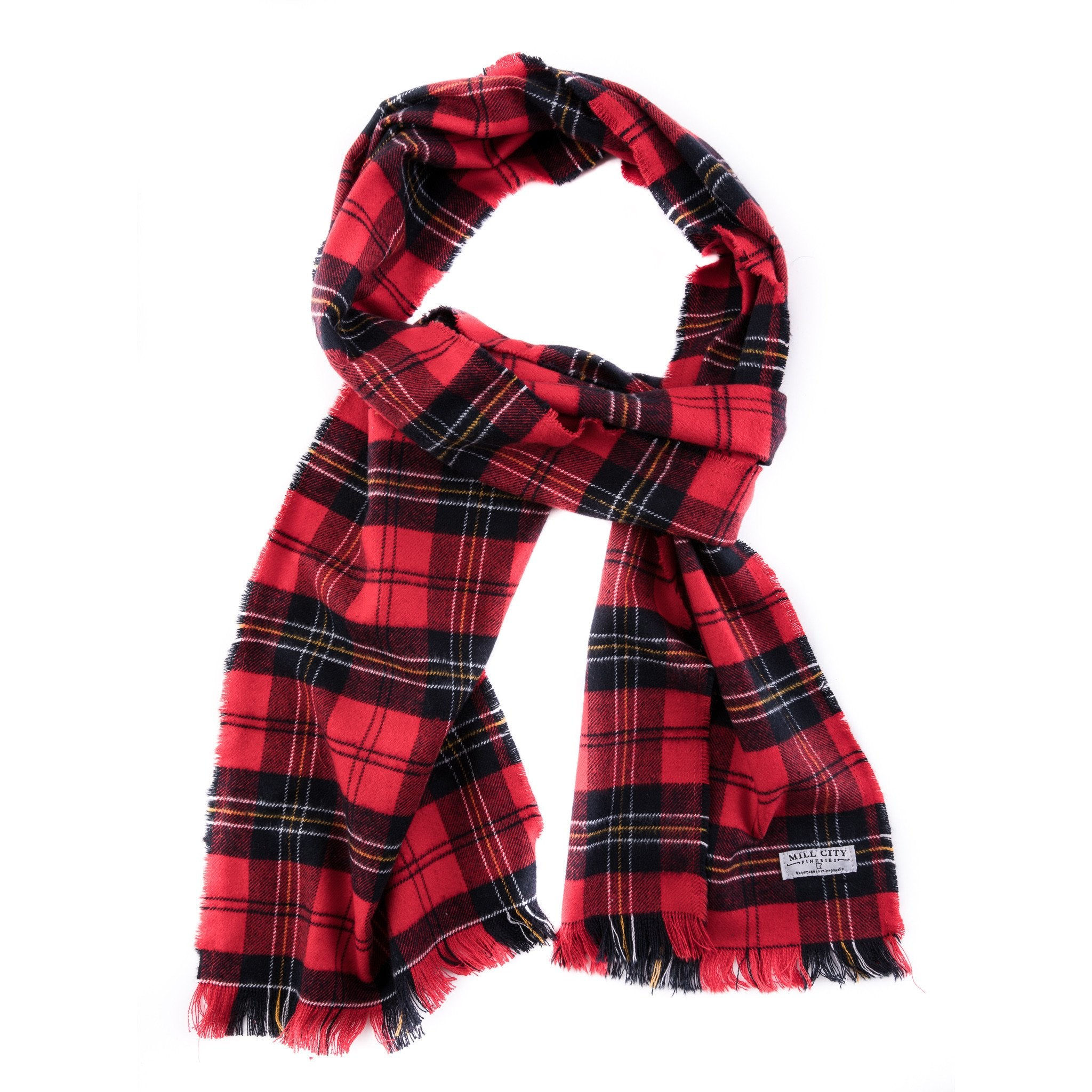 Mill City Fineries Burnett Tartan Flannel Scarf
