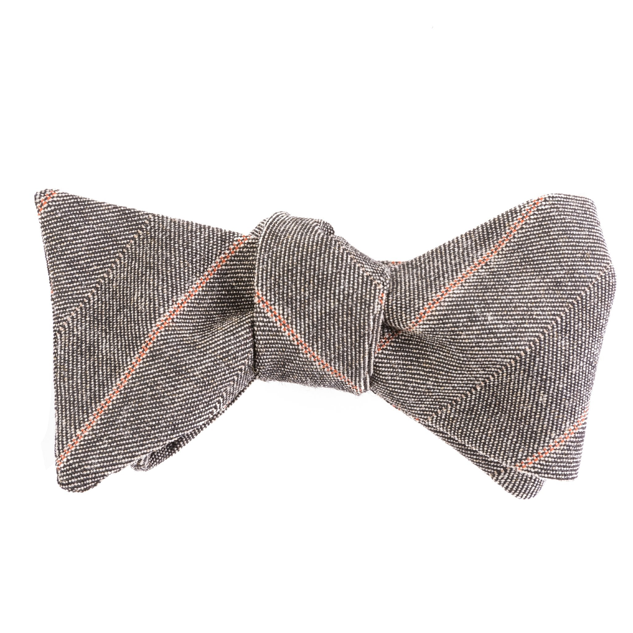 Mill City Fineries Clay & Stone Micro Herringbone Bow Tie