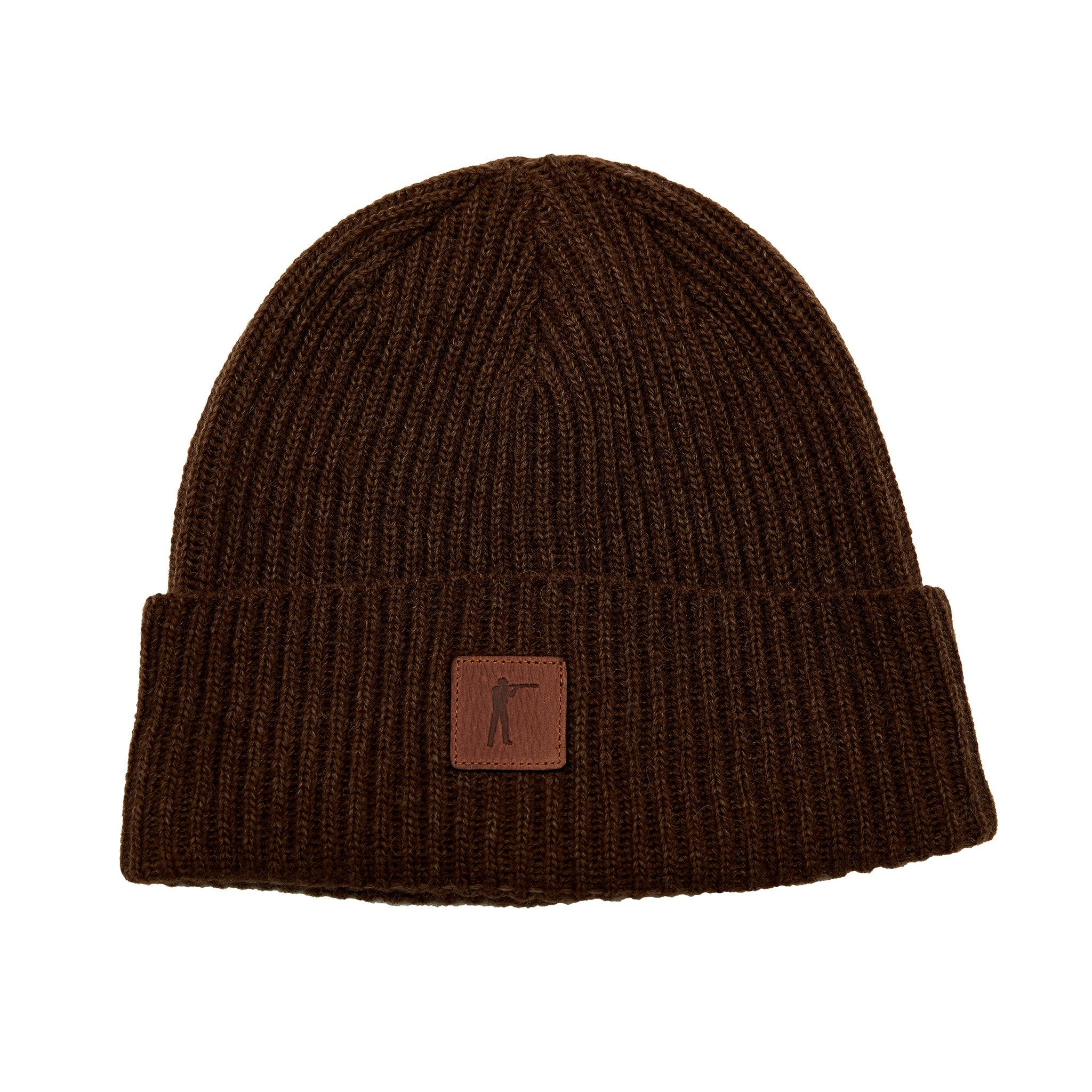 Roger Knit Hat - Bison Wool