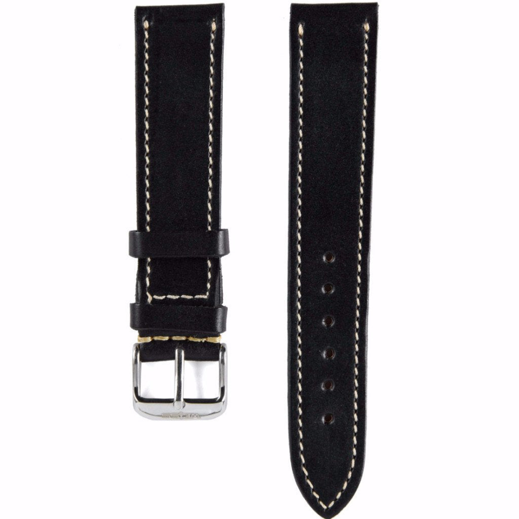 Black Horween Leather Strap