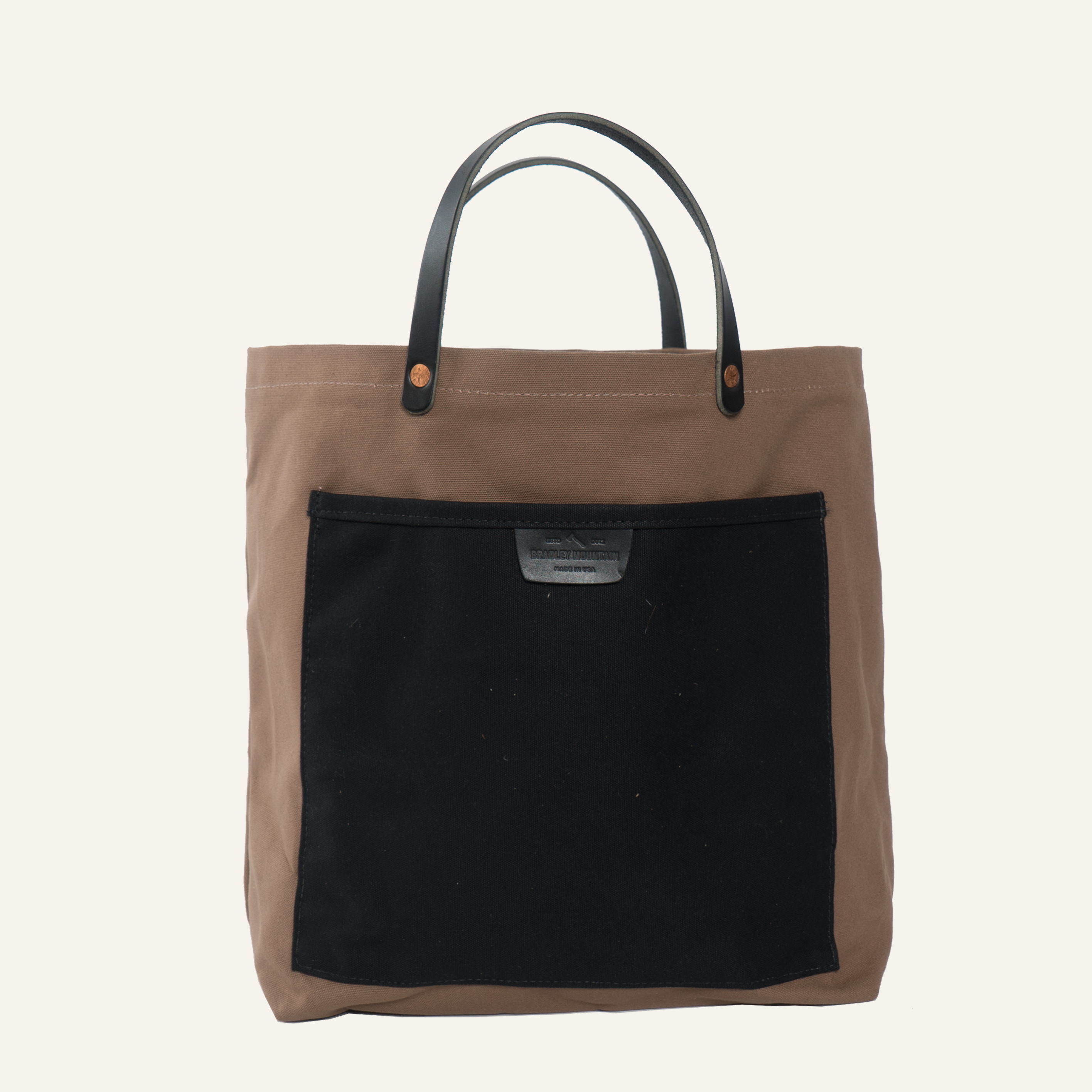 Coal Tote - Two Tone