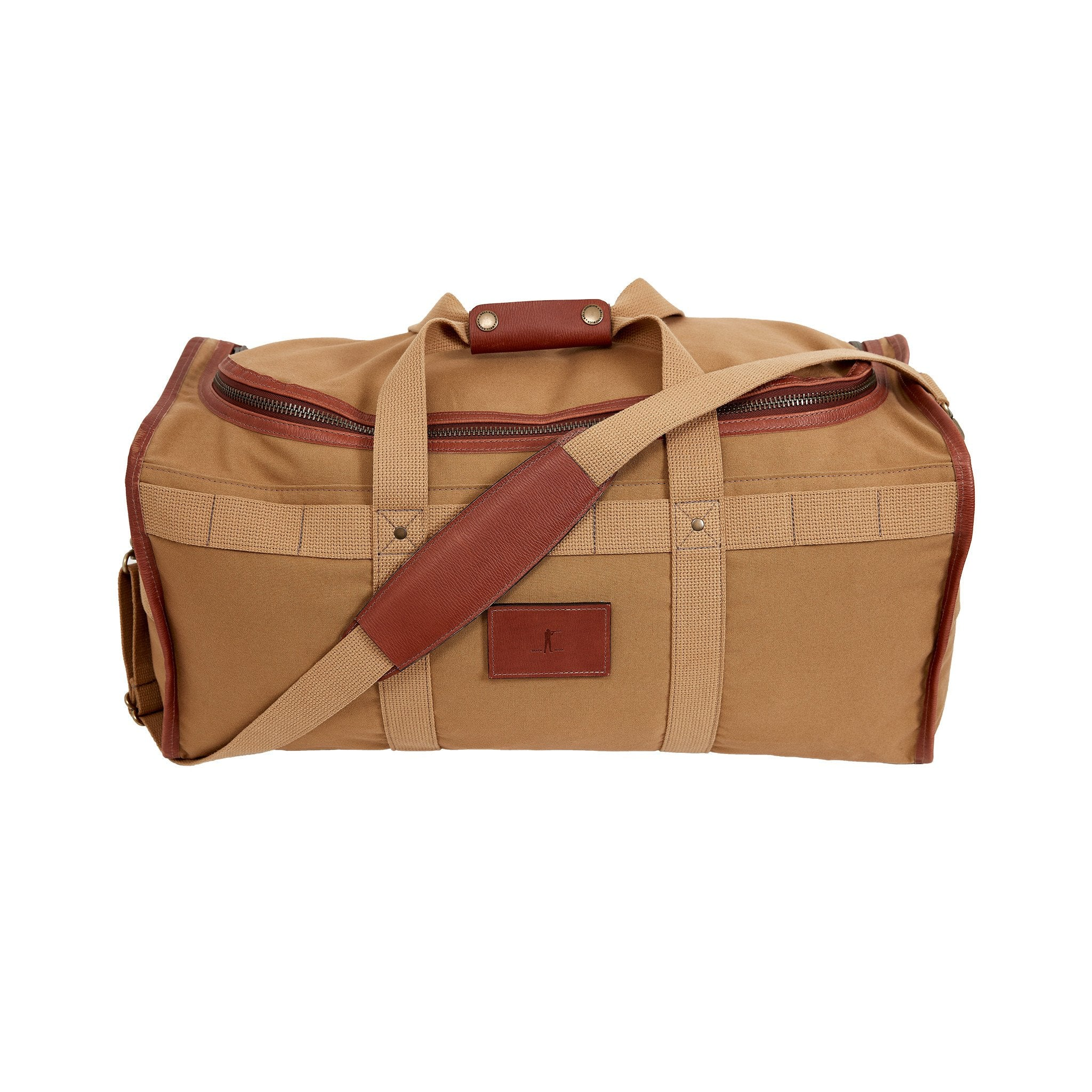 Expedition Duffel Bag, Signature Leather/Signature Duck
