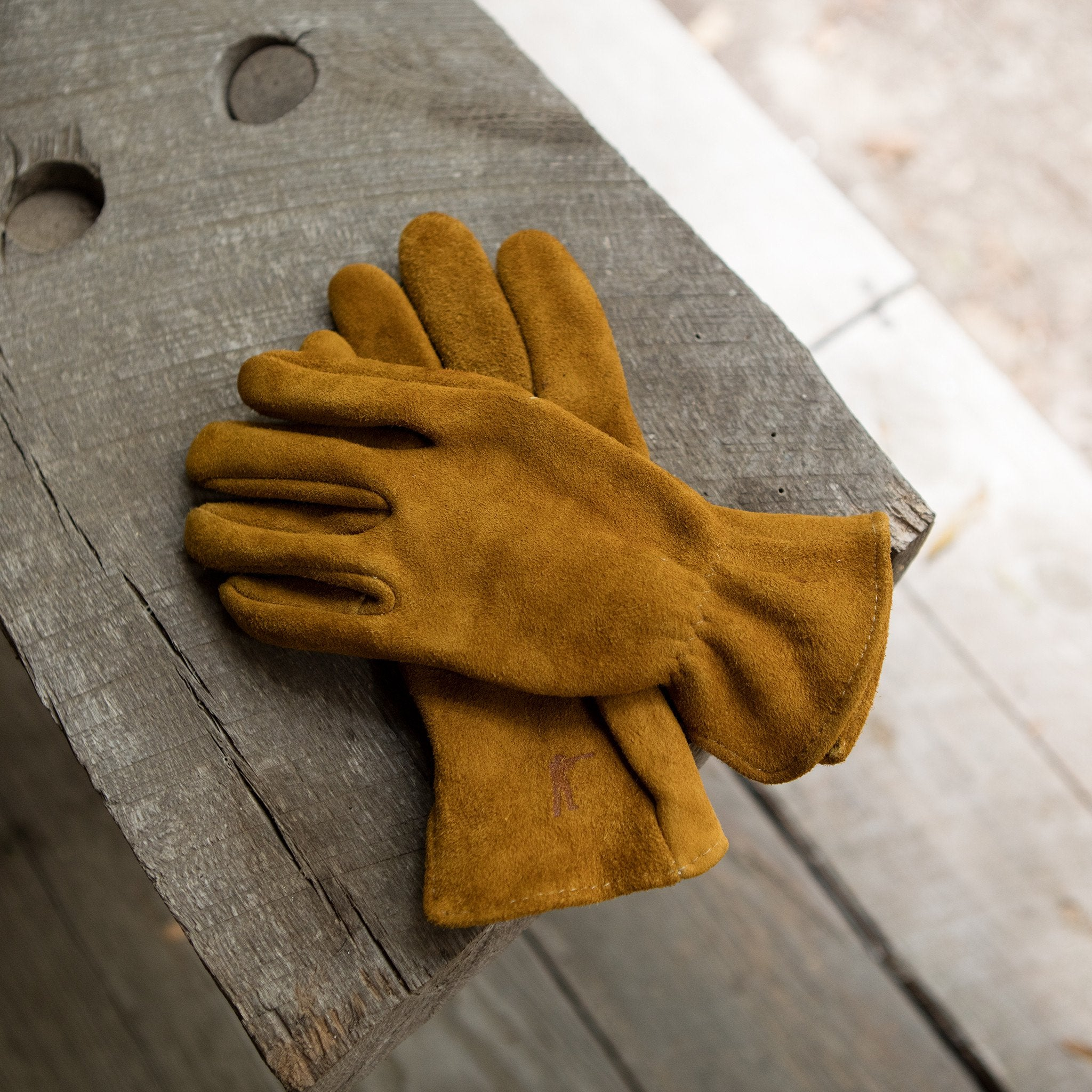Elkskin Suede Gloves Unlined