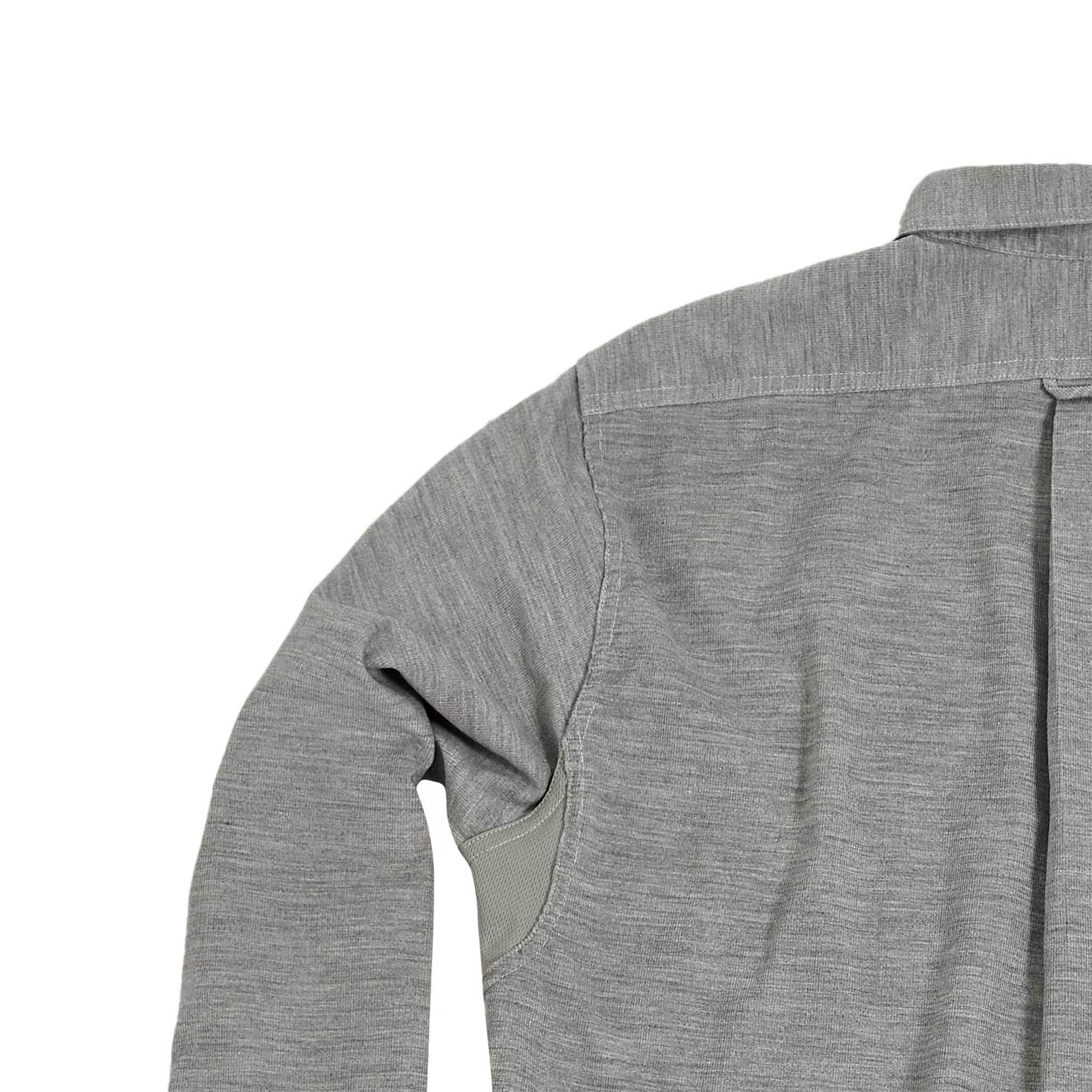 Scout Shirt w/Pocket, Grey Corduroy