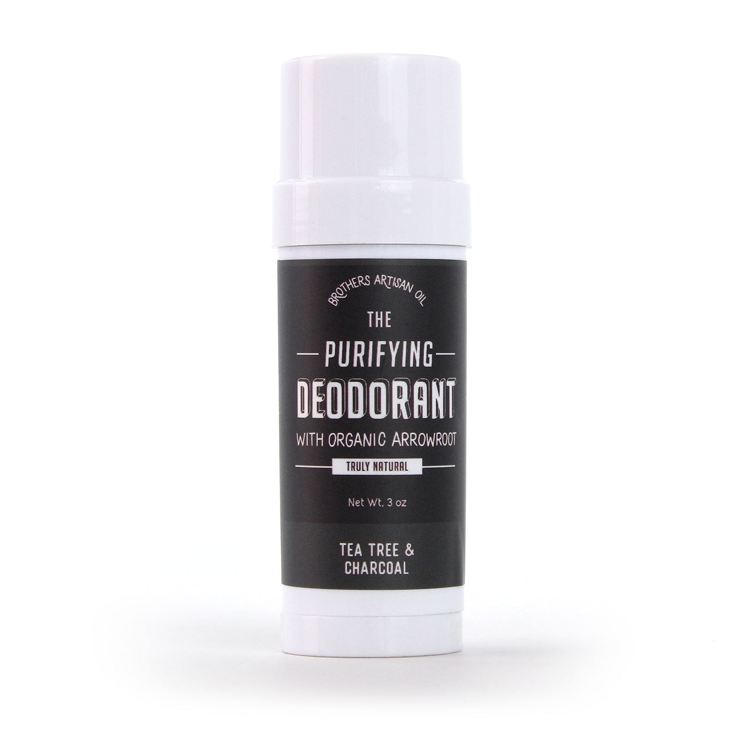 The Purifying Deodorant: Tea Tree & Charcoal