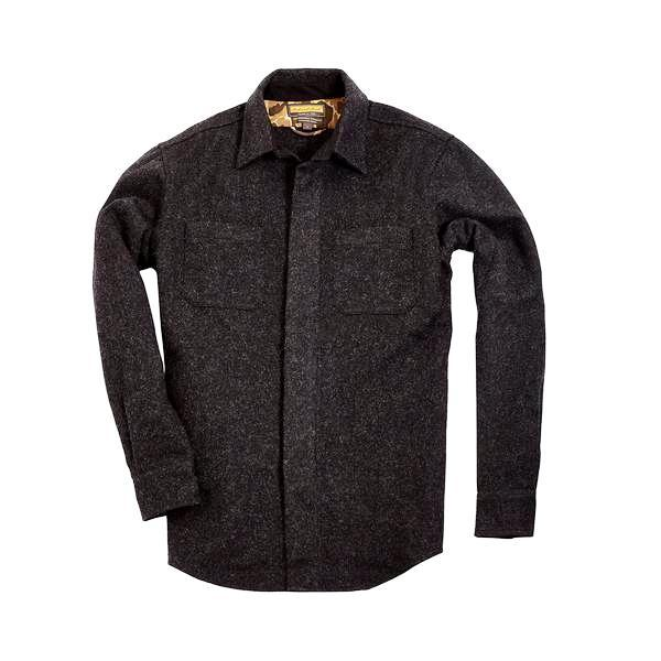 Mariners Overshirt 2.0, Coal