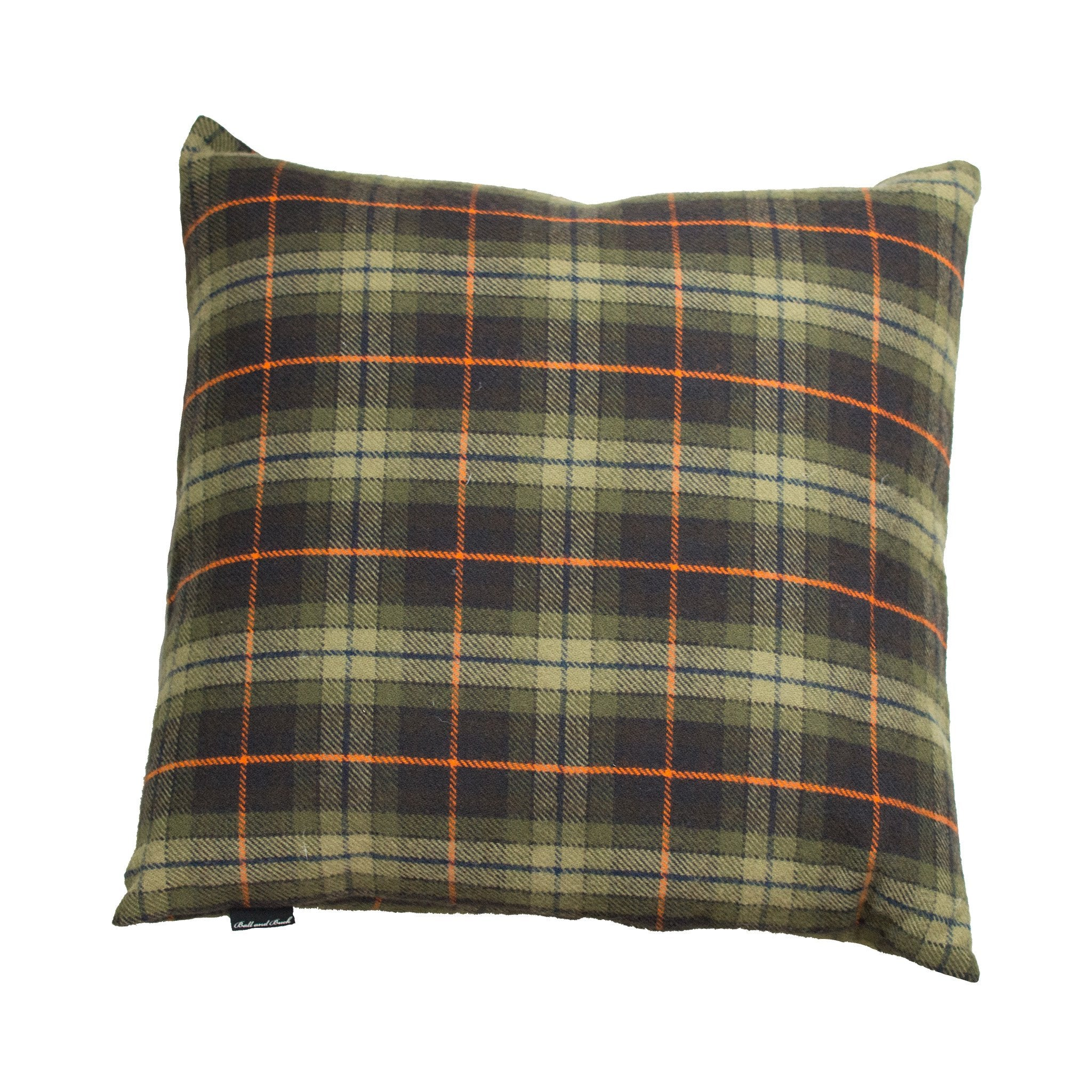 Merino Wool Pillow, Signature Plaid