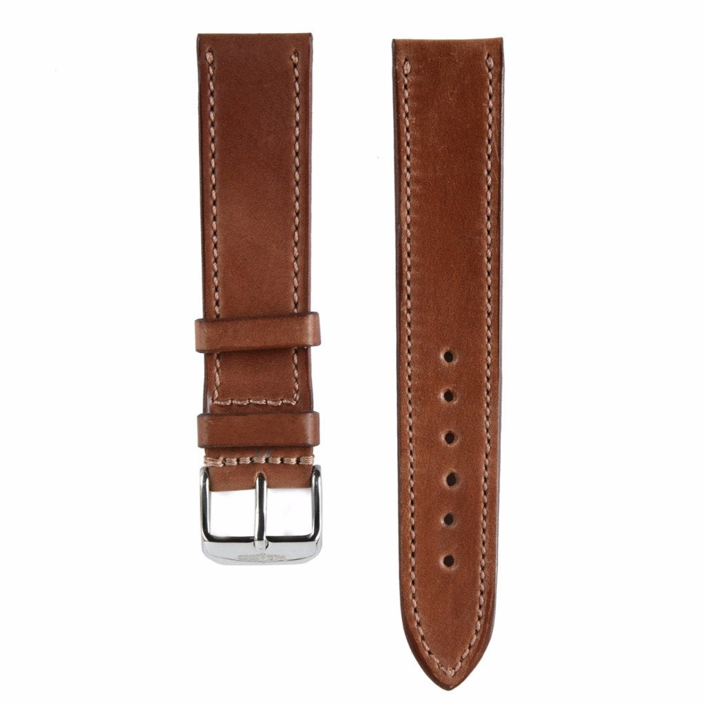 Natural Genuine Horween Shell Cordovan Strap