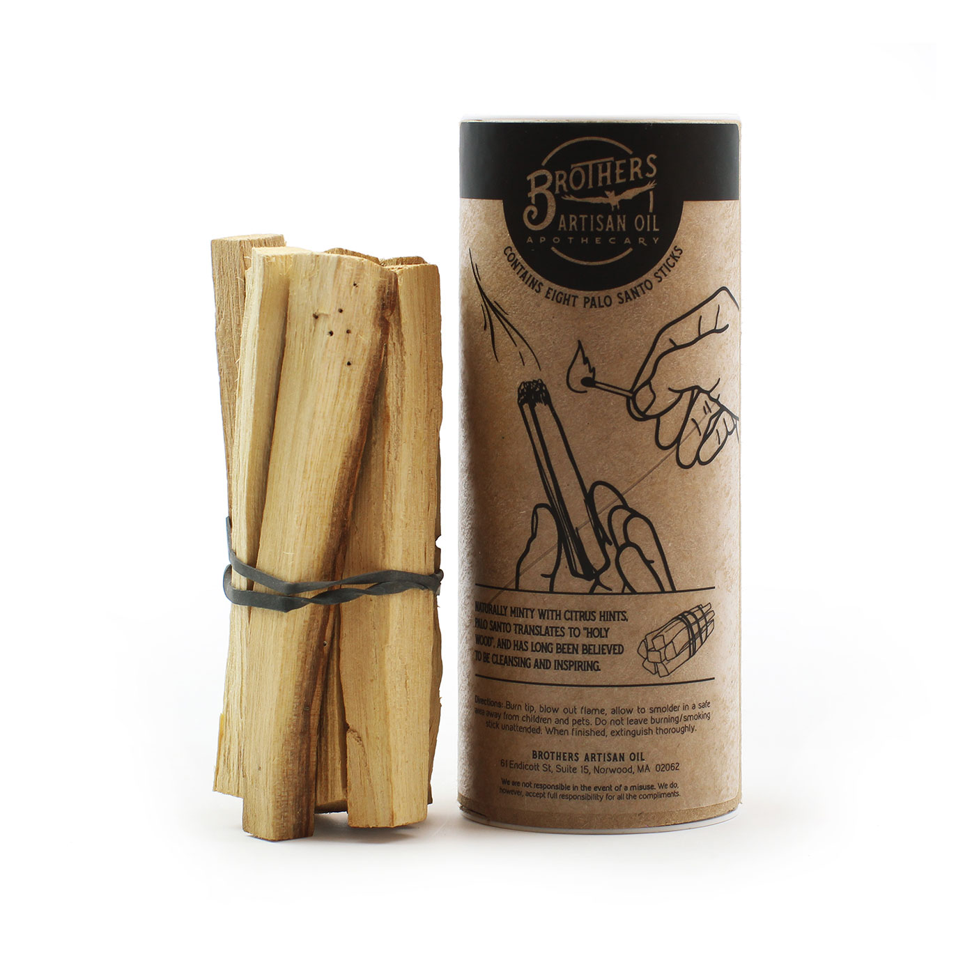 Palo Santo Smudge Stick Bundle 4""