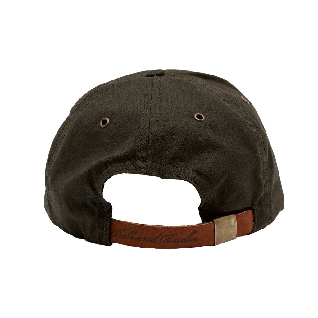 Premium Waxed Cotton Hat, Olive