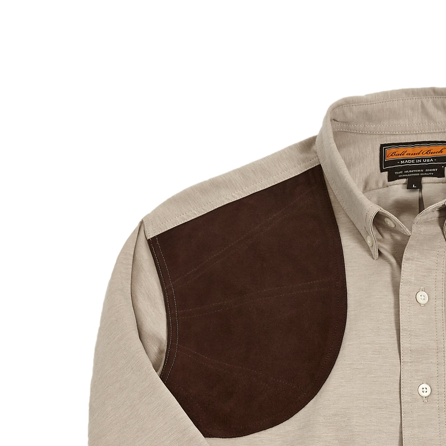 Premium Hunters Shirt +, Sand/Suede