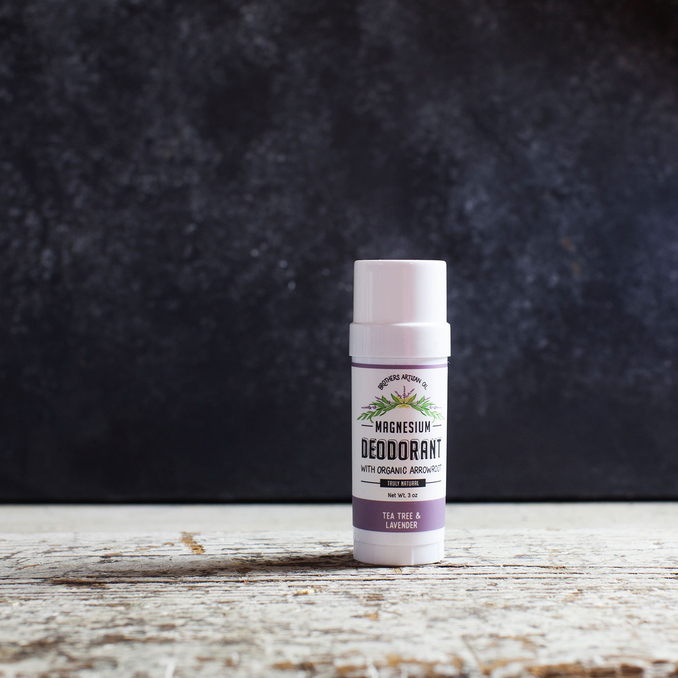 The Magnesium Deodorant: Tea Tree & Lavender