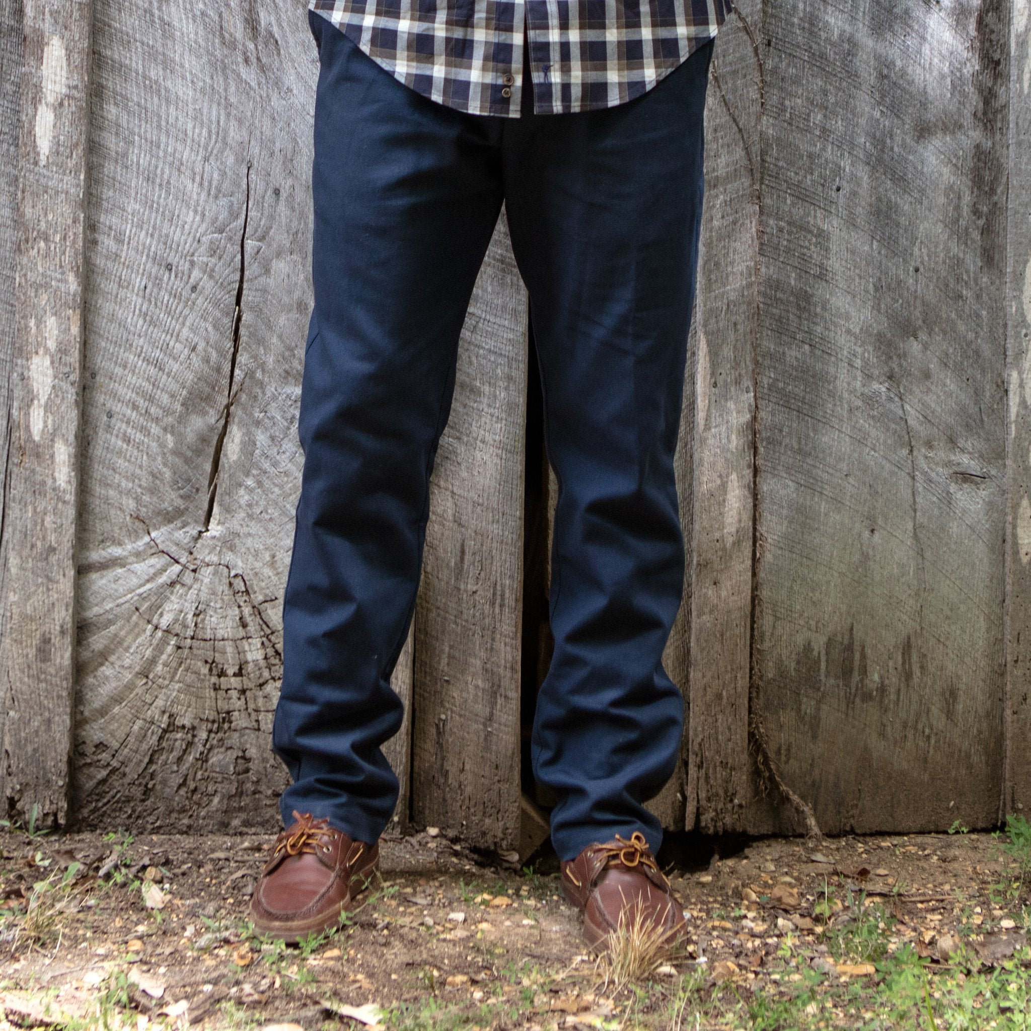 The 6 Point Pant, Navy