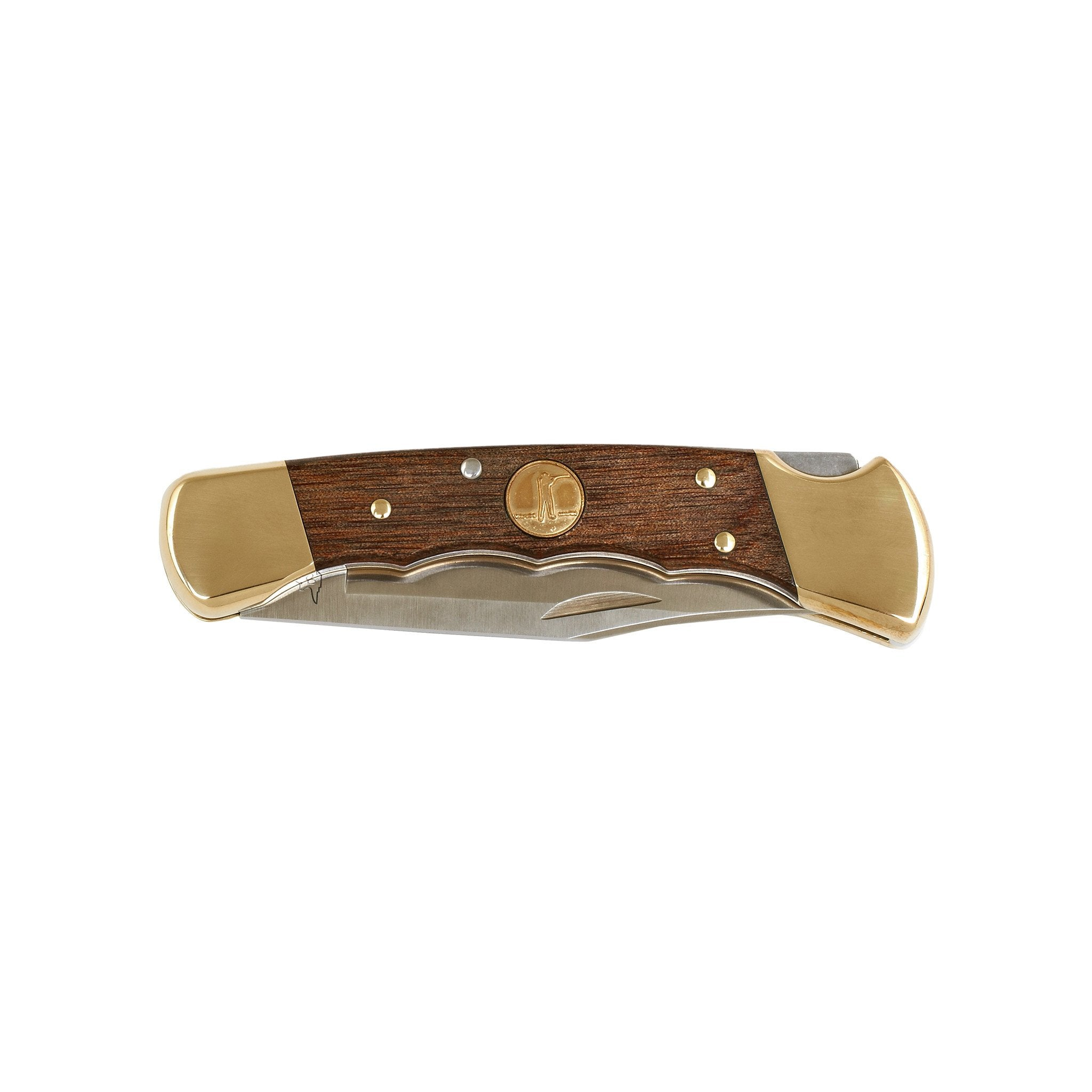 The Folding Hunter Knife, Heritage Walnut