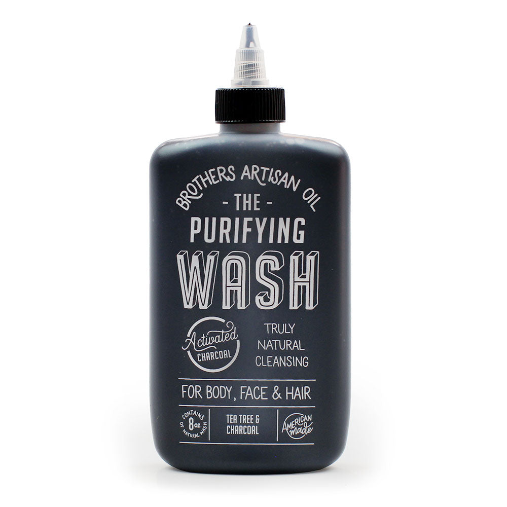 The Purifying Wash: Tea Tree & Charcoal