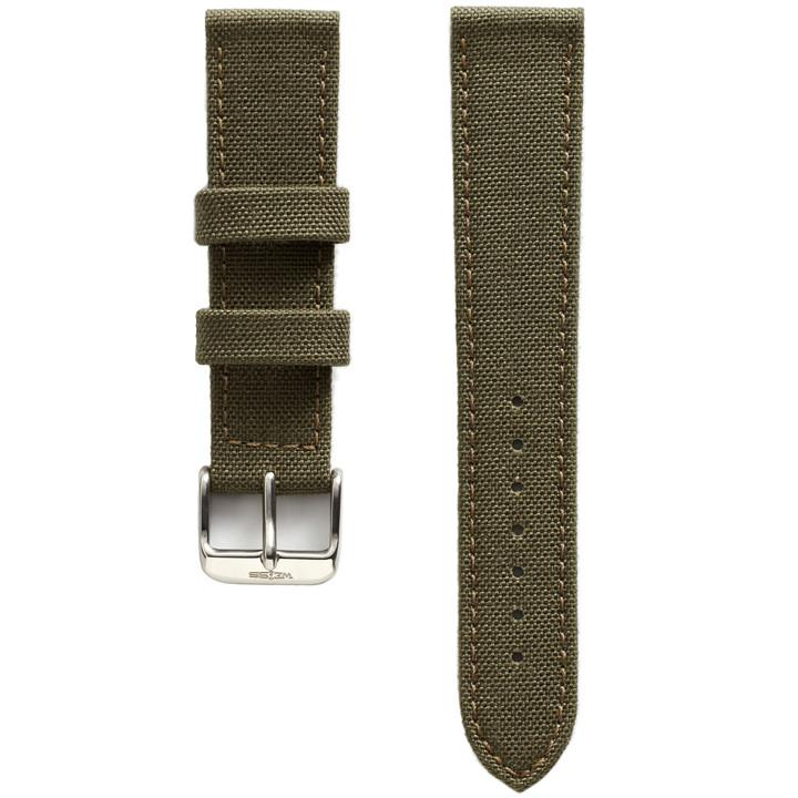 Weiss Olive Green Cordura Canvas Strap