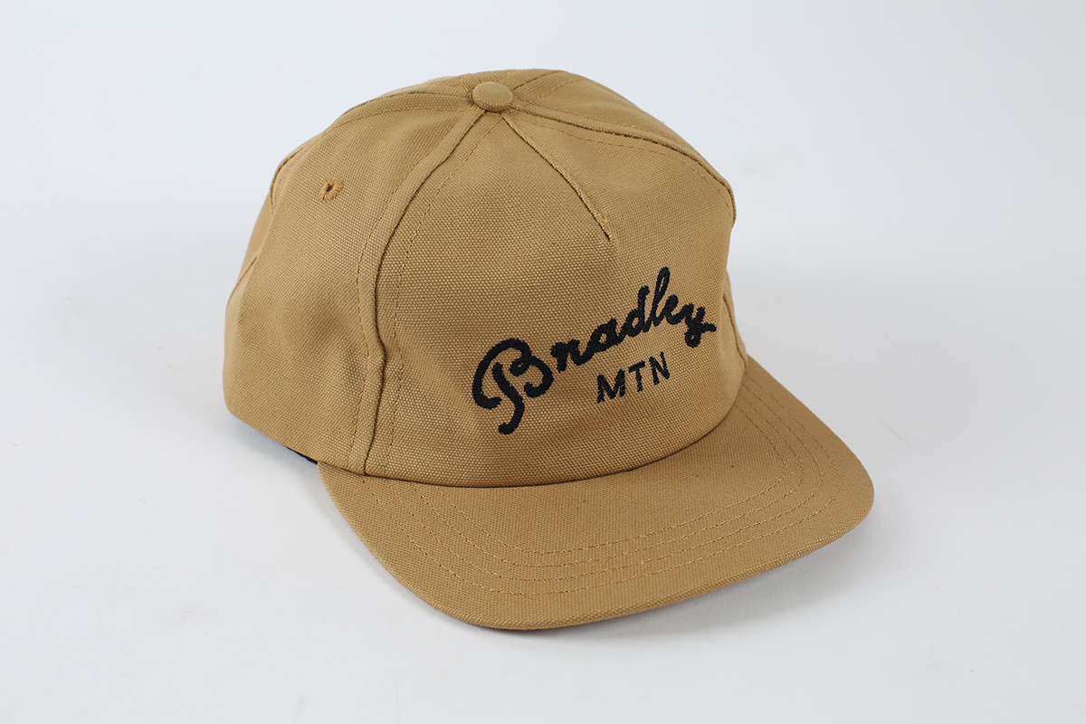 Bradley Mtn 5-Panel Hat - Tan