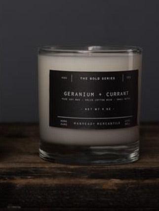 Manready Black Box Candle 9oz