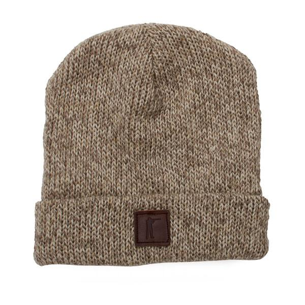 Roger Knit Hat, Oatmeal Ragg Wool