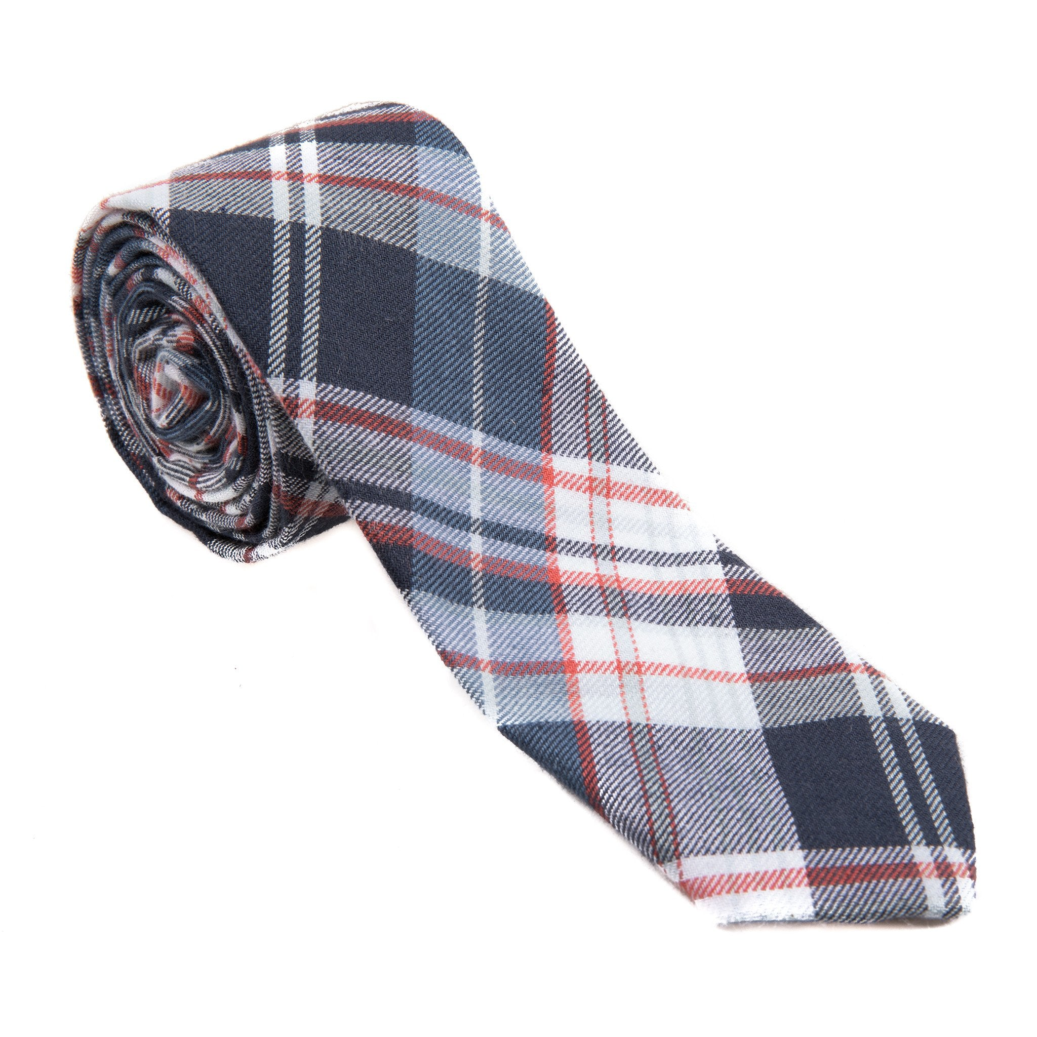Mill City Fineries Americana Plaid Necktie