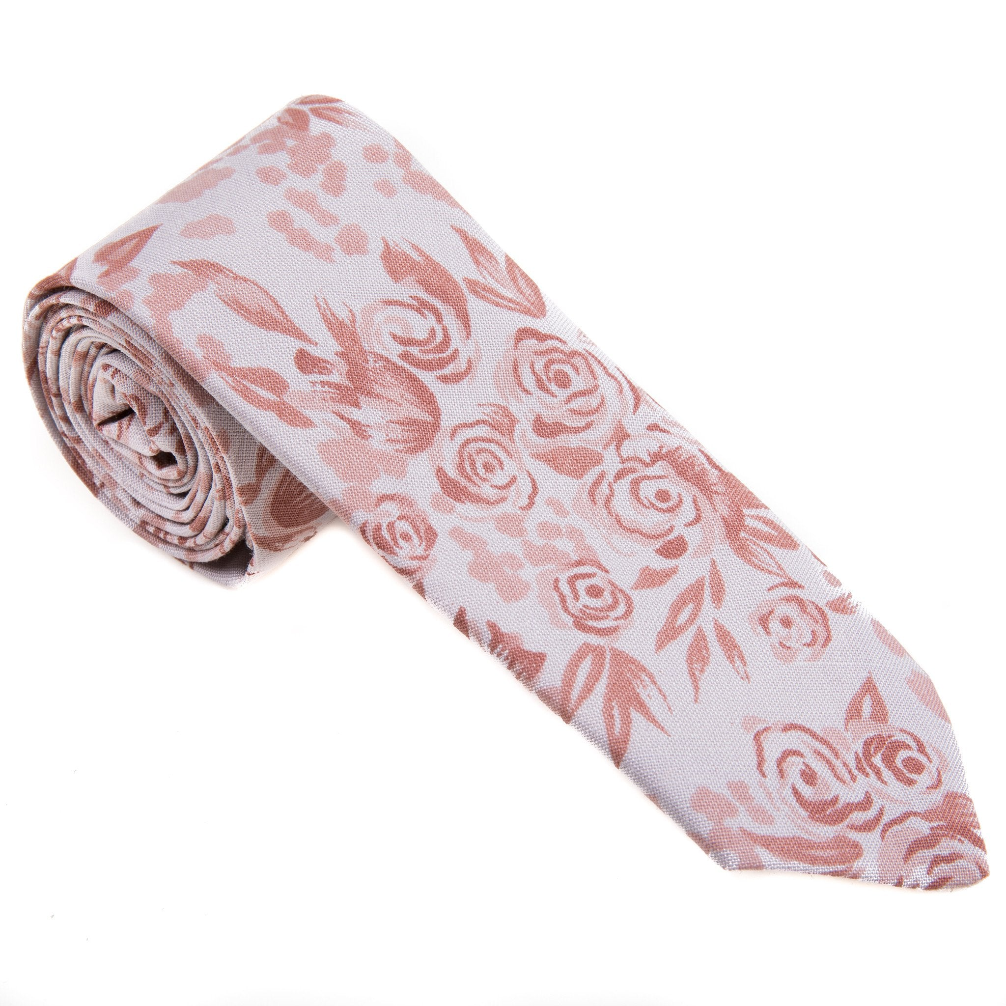 Mill City Fineries Argentinian Faded Floral Necktie
