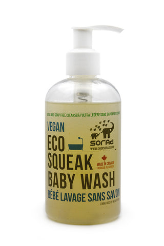 Eco Squeak Baby Wash (Soap Free)