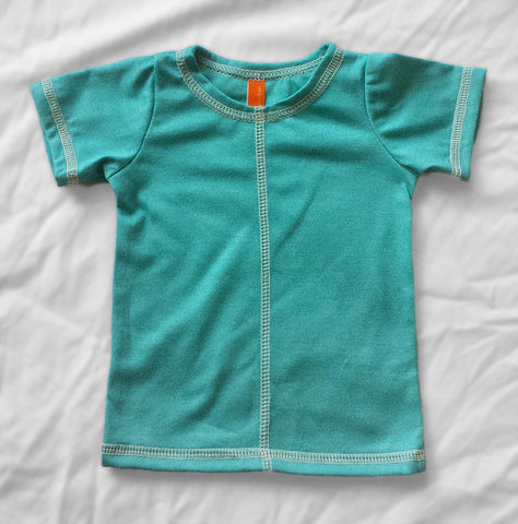 Summer Shorty Outfit - Coolots and Tee Pack (Blue)