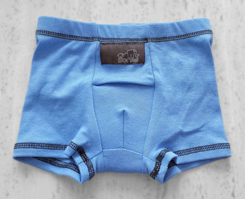 Boys Boxer Briefs - 3 Pack (Grey, Blue & Green Dinos)