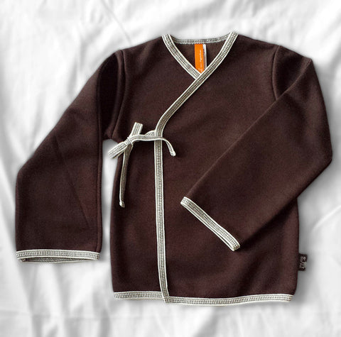 Swing Cardigan (Choco Brown)
