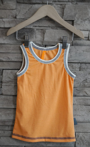 Boys Tank/Undershirt (Orange)
