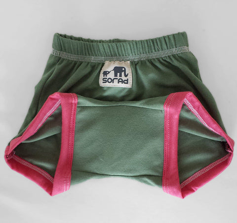 Girls Training Pants (Olive)