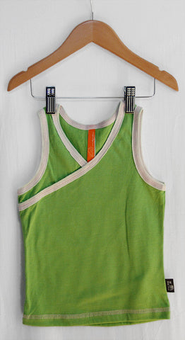 Girls Tank/Undershirt 2 Pac (Charcoal & Avocado Green)