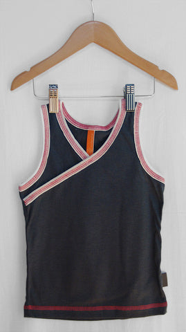 Girls Tank/Undershirt (Charcoal)